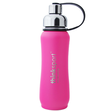 Thinksport Stainless Steel Insulated Water Bottle Hot Pink