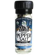 Celtic Sea Salt Organic Pepper Salt