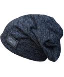 Calikids Knit Slouchy Hat Iron Black
