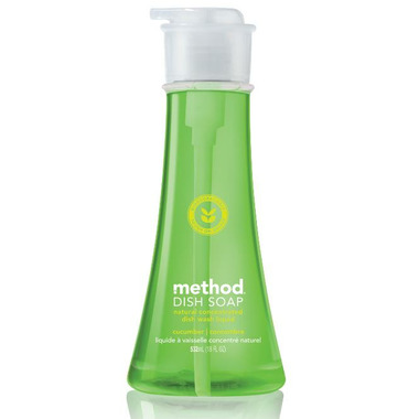 Method Dish Soap Pump Cucumber