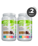 Vega One All-In-One Chocolate Nutritional Shake 2 Pack Bundle