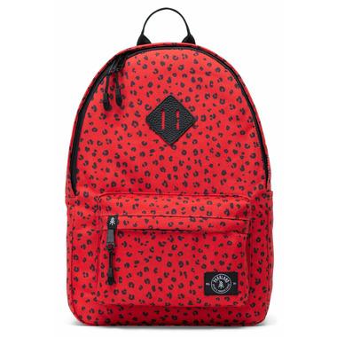 Parkland Bayside Backpack Red Leopard