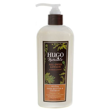 Hugo Naturals Shea Butter & Oatmeal All Over Lotion