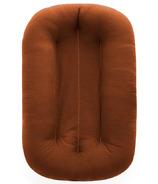 Snuggle Me Organic Infant Bare Lounger Gingerbread