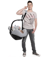 Cocobelt Car Seat Carrier Strap Black & Grey