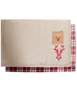 Domay Placemat Plaid Deer