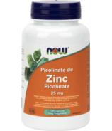 Picolinate de zinc 25 mg de NOW Foods