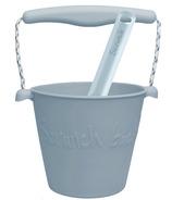 Scrunch Bucket and Spade Egg Blue