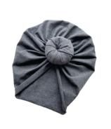 Mini Bretzel Turban Dark Grey