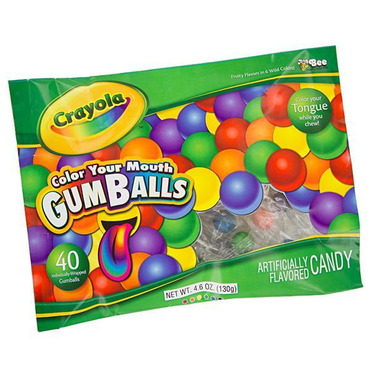 Crayola Color Your Mouth Gumballs