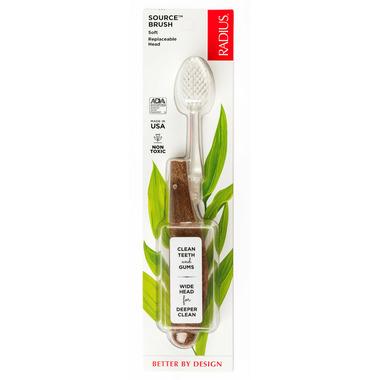 Radius Source Toothbrush with Soft Bristles
