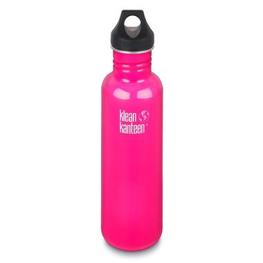 Klean Kanteen Classic Water Bottle Loop Cap Dragon Fruit