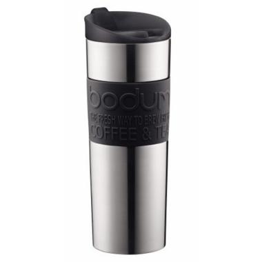 Bodum Travel Mug Stainless Steel Black