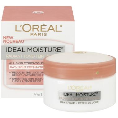 L\'Oreal Ideal Moisture Radiant Tone Day/Night Cream