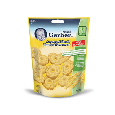 Gerber Toddler Arrowroot Biscuits