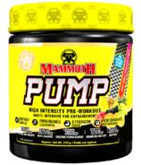 Mammoth Pump Fruit Punch