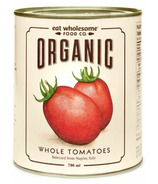 Eat Wholesome Organic Peeled Whole Tomatoes