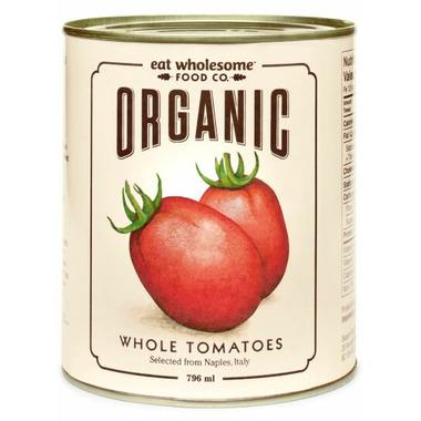 Eat Wholesome Organic Whole Tomatoes (peeled)