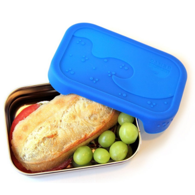 ECOlunchbox Splashbox Blue Water Bento