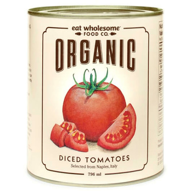 Eat Wholesome Organic Diced Tomatoes