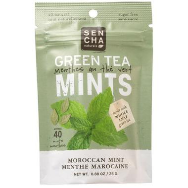 Sencha Naturals Sugar Free Green Tea Mints Moroccan Mint