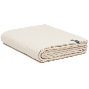 Halfmoon Cotton Yoga Blanket Natural