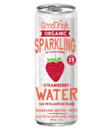 GoodDrink Strawberry Sparkling Water