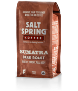 Salt Spring Coffee Sumatra Dark Roast Whole Bean Coffee