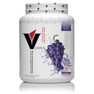 Vitargo Before + During + After Grape