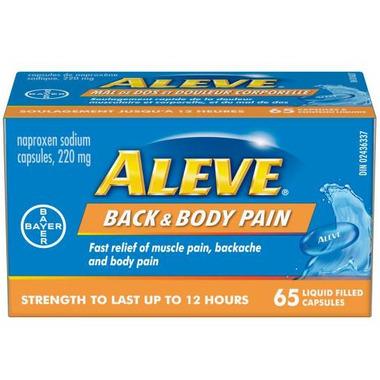 Aleve Back & Body Pain