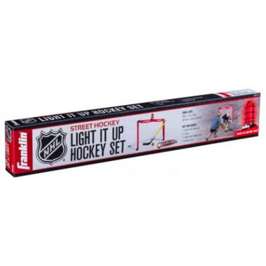 Franklin NHL Light It Up Street Hockey Set