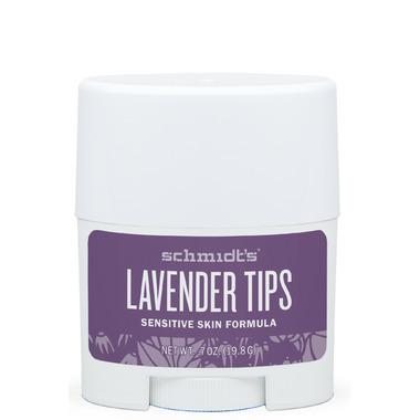 Schmidt\'s Deodorant Lavender Tips Sensitive Skin Travel Size Deodorant