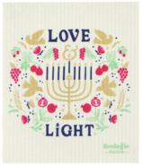 Now Designs Ecologie Swedish Sponge Cloth Love & Light
