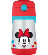 Thermos Stainless Steel Straw Bottle Minnie Mouse