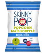 Skinny Pop Popcorn Real Butter