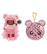 Série de poupées surprise pom glam surprise 2 en 1 Na Na Na Cali Grizzly