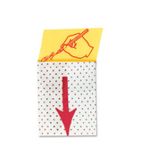 Post-it Sign Here Printed Message Flag