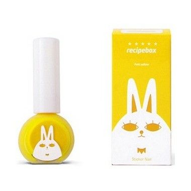 Recipebox Peel Off Nail Polish Petit Yellow