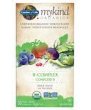 Garden of Life mykind Organics Vitamin B-Complex Once Daily
