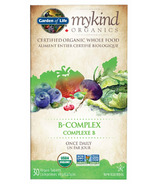 Garden of Life mykind Organics Vitamin B-Complex Once Daily
