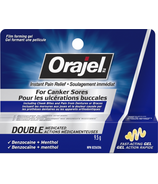 Orajel Cold Sores 3X Medicated Gel