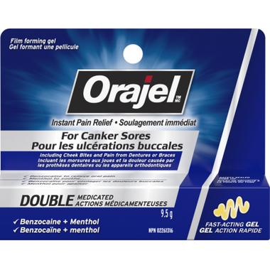 Orajel Cold Sores 3X Medicated Gel