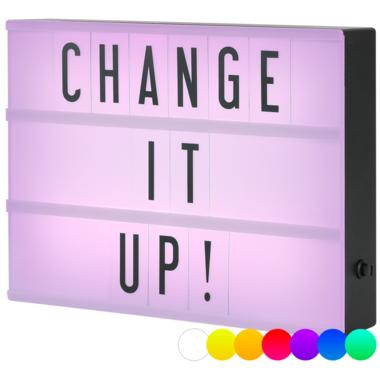 My Cinema Lightbox Original Colour Changing