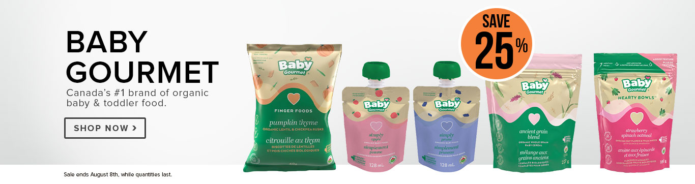 Save 25% on Baby Gourmet