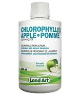 Land Art Chlorophylle liquide à la pomme