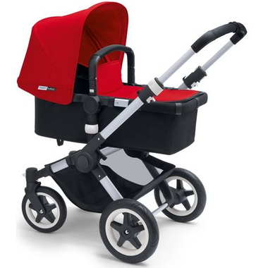 Bugaboo Buffalo Tailored Fabric Set Red