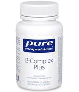 Complexe de vitamine B plus de Pure Encapsulations