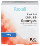 Éponges de gaze Rexall