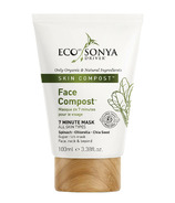 Eco Tan Face Compost Purifying Face Mask