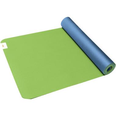 Gaiam SOL Suddha Eco-Friendly Yoga Mat Green & Blue